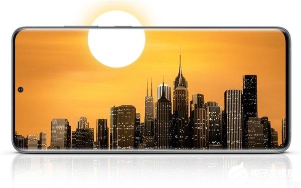 三星Galaxy S20被评价拥有目前可用的最好的OLED屏幕技术