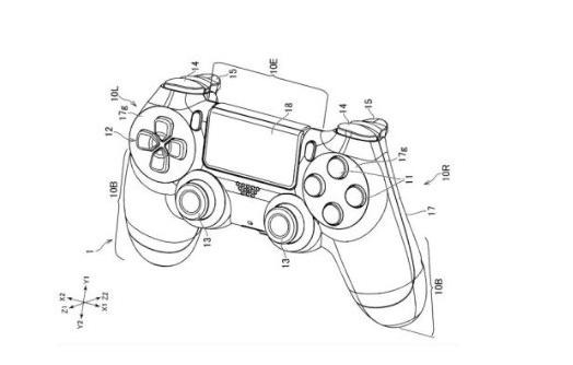 索尼手柄新专利公开,手柄或能无线充电