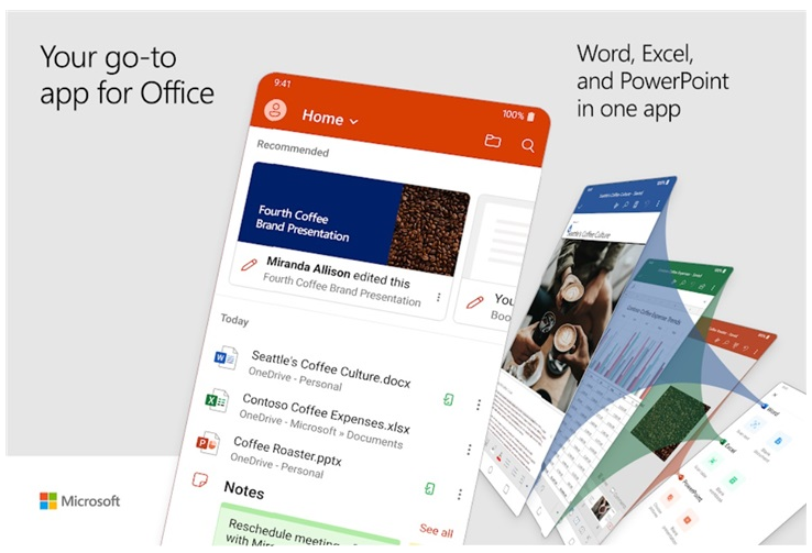 微软全新Office应用程序已适配LG手机双屏功能