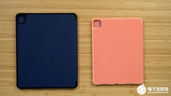 蘋果iPad Pro設備專用保護套,預留方形攝像模組開孔