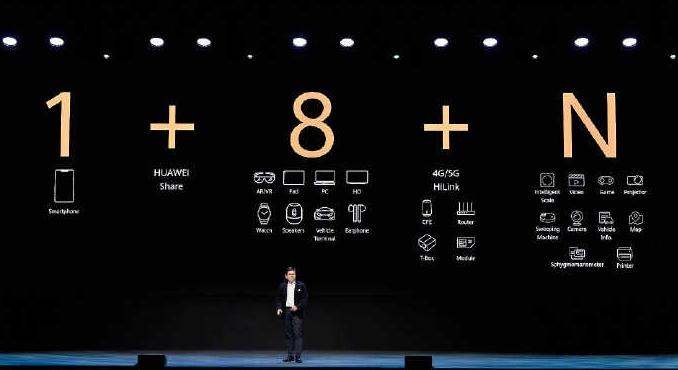 HUAWEI5G手机全球发货量突破千万台