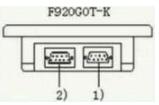 触摸屏与PLC之间连接注意事项