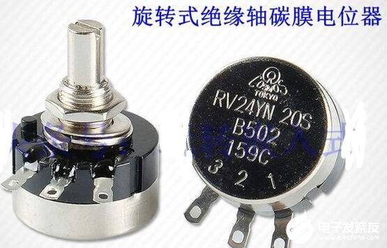 电位器B103和B502的区别