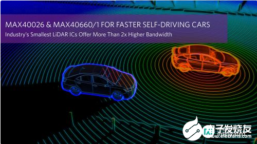 Maxim推出业界最小的LiDAR IC 帮助实现更高速的汽车自动驾驶