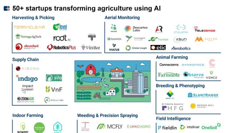 AI技术怎样重写农业