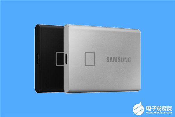 三星推出全新移動固態硬盤T7 Touch 順序讀取速度高達1050MB/s并搭載指紋識別
