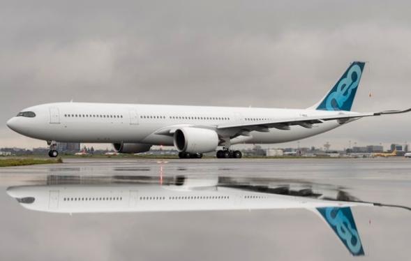 空客最大起飞重量的A330-900飞机将在2020年中期通过适航当局的认证