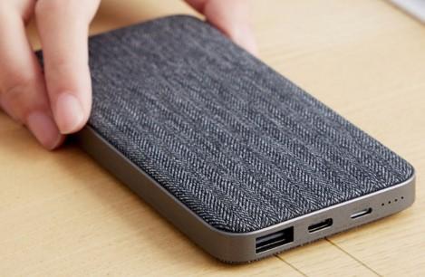 紫米双向快充移动电源尊享版推出,自带苹果Lightning充电接口