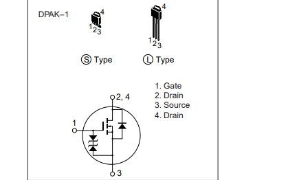 2SK1838硅N沟道MOSFET的数据手册