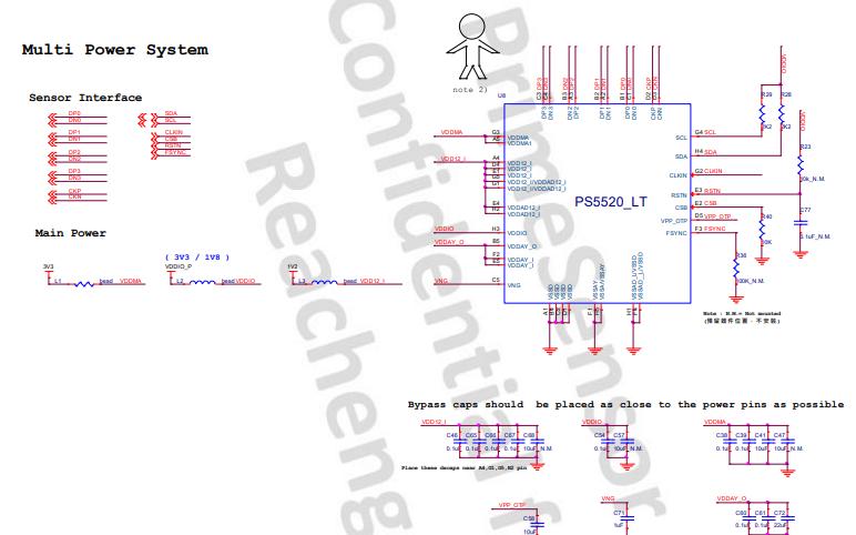PS5520 CMOS图像传感器的数据手册免费下载