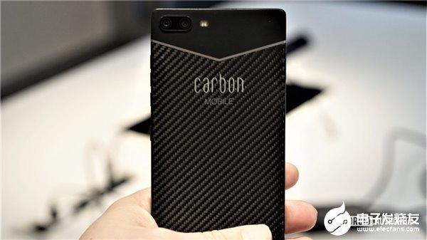 全球首款碳纤维Carbon 1 MKII手机,搭载联发科Helio P90处理器