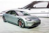索尼Vision-S电动自动驾驶轿车通过道路测试...