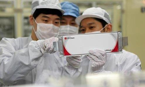 韩国三家电池厂商占电动汽车电池全球市场30.8%