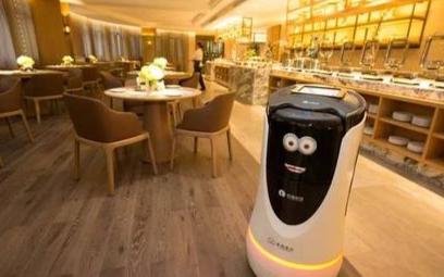 服务型机器人抗击疫情,黑科技迎来高光期