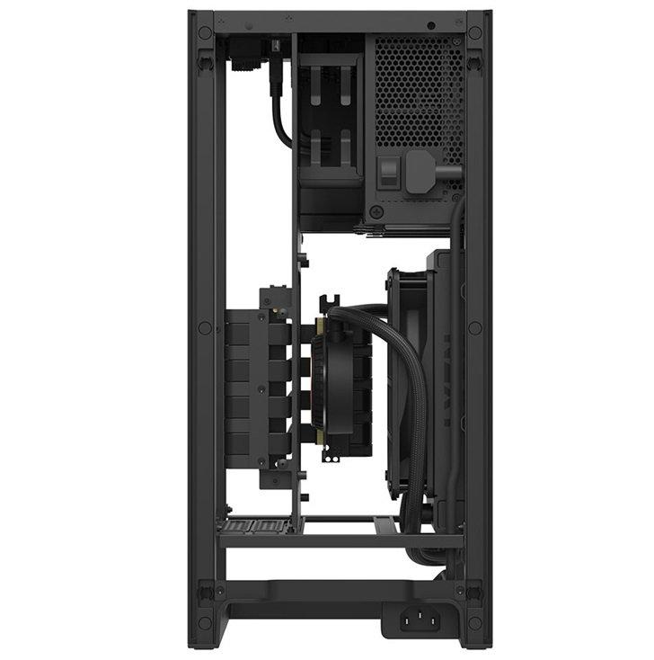 NZXT H1 ITX机箱发布,采用AIO水冷散热器和垂直设计
