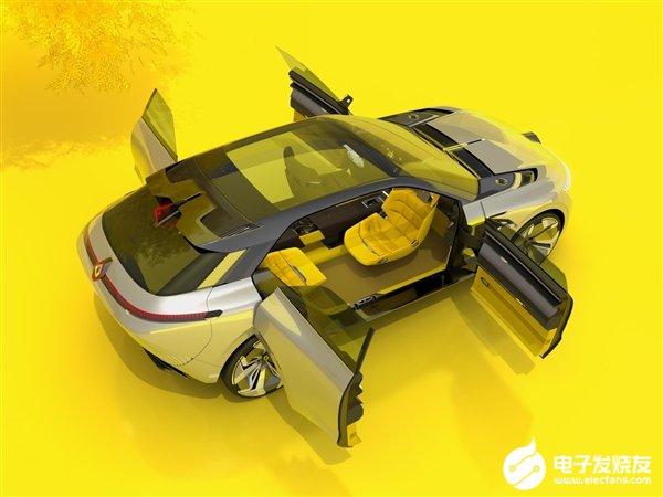 雷诺发布全新概念车型Morphoz 续航里程最高可达700公里