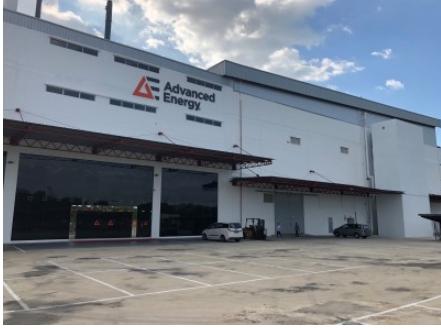Advanced Energy 宣布該公司在東南亞投資采用先進生產設施的新工廠已開始運營