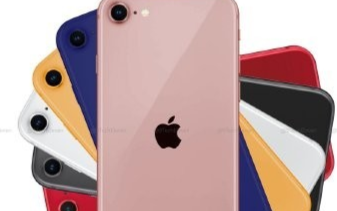 iPhone 12系列多彩外觀渲染圖曝光,六種配色提供不同的選擇