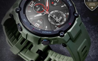 华米Amazfit T-Rex智能手表拥有双星定位芯片和66天超长续航体验