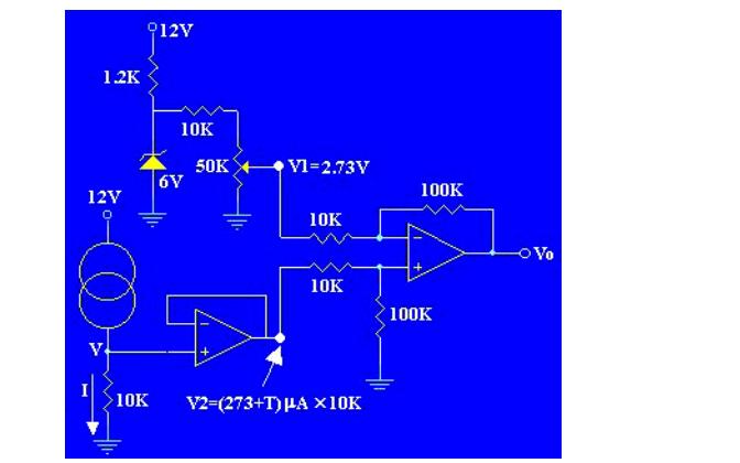 AD590温度传感器的中文资料介绍