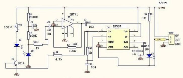 红外传感器是什么_红外传感器避障电路图