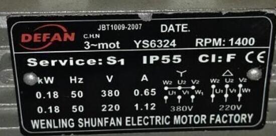 一个220v电机的接线图分享