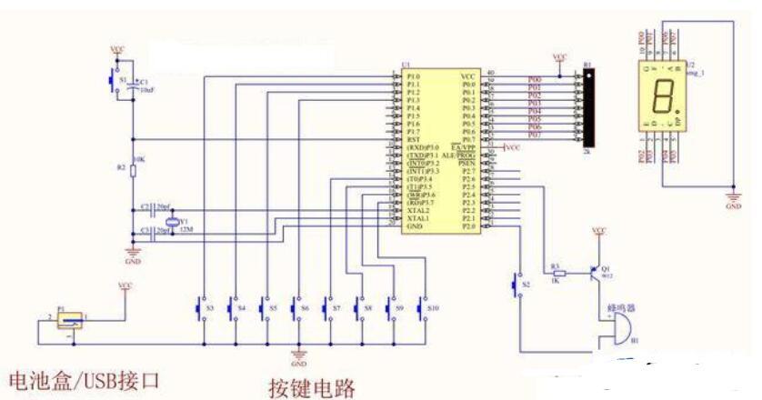 單片機制作模擬電子琴