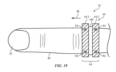 苹果可扩展智能指环专利,可以安装其他元件