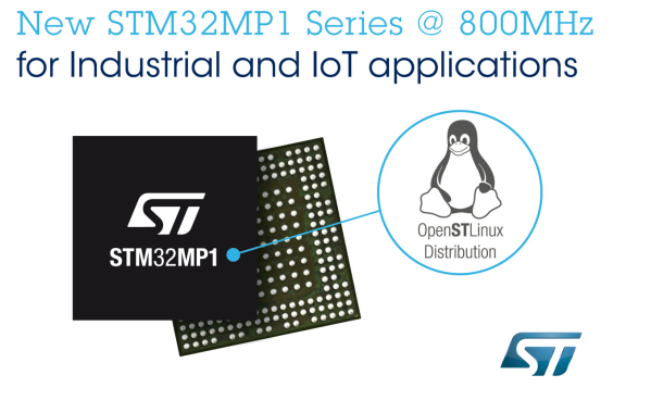 STMicroelectronics boosts STM32 microprocessor performance