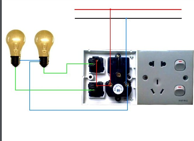 最常见的电工电路实物图和接线图合集免费下载