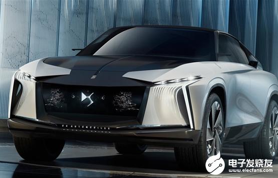 法系车DS全新慨念车亮相 各大厂商积极推出电动化车型抢占市场