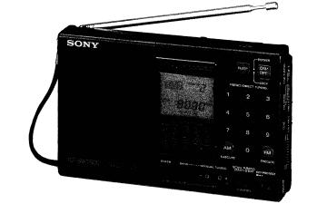 SONY ICFSW7600收音机的维修手册