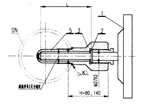 双金属温度计的安装方法_双金属温度计安装图
