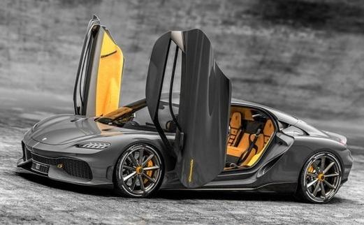 柯尼塞格发布了一款GT车型Gemera可以支持3...