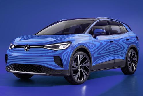 大众将推出首款跨界电动汽车ID.4续航里程最高可...