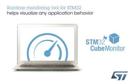 意法半导体发布STM32CubeMonitor工具 可实时显示应用程序运行时的变量