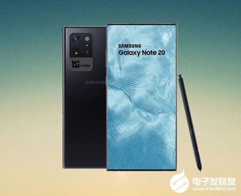 三星Galaxy Note 20起步容量128GB 或将提前到7月份发布