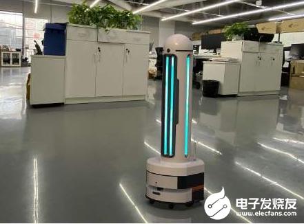 中信重工喷雾消毒机器人 能够无死角实施清洗和消毒