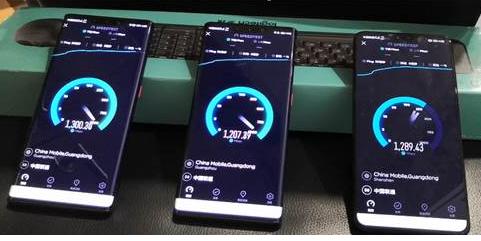 广东联通携手华为发布了全球首个用于5G室内网络的300MHz 4T4R模块