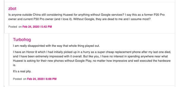外国网友如何看待少了Google的华为手机