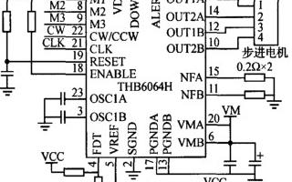 基于步进电机驱动芯片和核步法实现闭环控制电路的设计