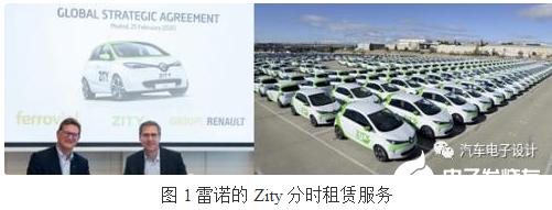 欧洲推出分时租赁业务 意图以此来攻克纯电动汽车行...