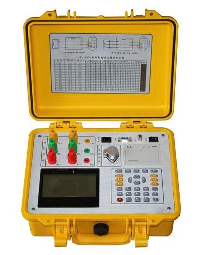 变压器容量特性测试仪的操作步骤