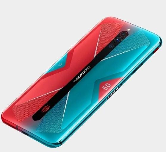 红魔5G游戏手机渲染图曝光采用了X型语言设计外观非常好看