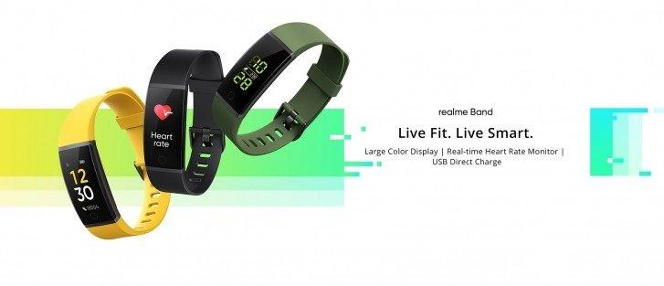 Realme首款智能手环产品推出,可插入任何USB端口进行充电