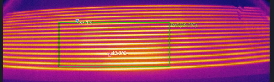 热像仪在汽车行业的应用——后挡风玻璃加热丝安全检测