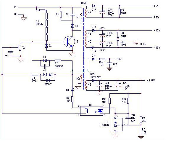 变频器开关电源带载能力差故障检修方法图解