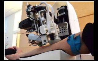 機器人可利用人工智能和成像技術(shu)實現抽血操(cao)作