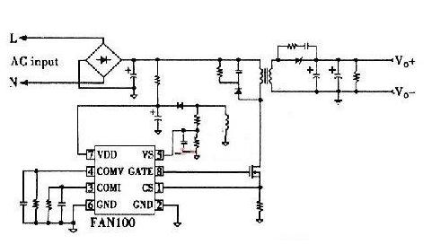 基于飞兆半导体FAN100为控制器的LED照明系统设计
