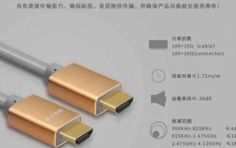 HDMI连接线都有哪些自身优势